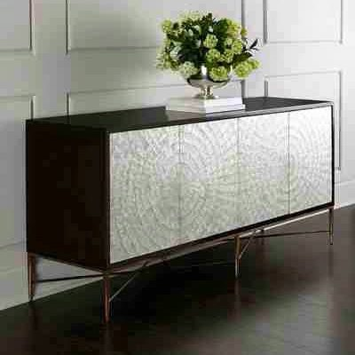 Bernhardt Adagio Buffet with gorgeous inlaid capiz shells