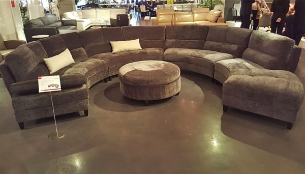 Curves Half Circle Sectional