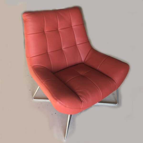 ORANGE MODERN BASKET CHAIR 800×800