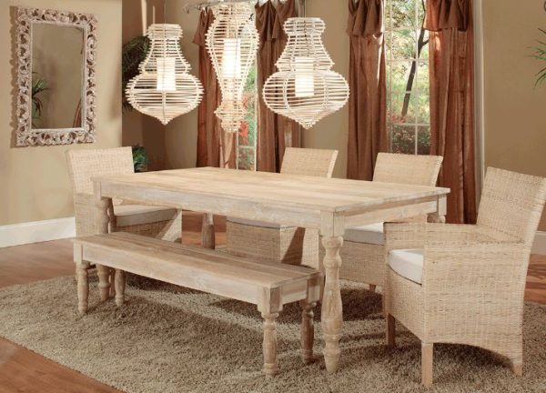 Charleston Dining Table Set