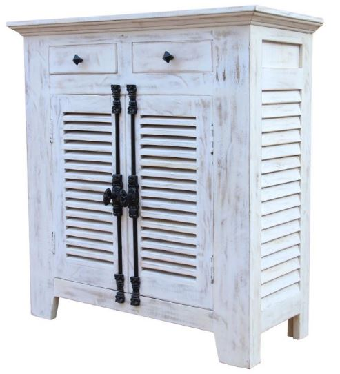 Cottage Louver Cabinet