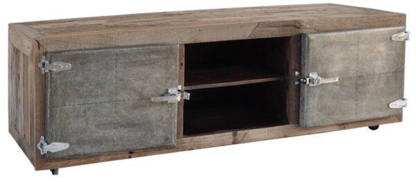 Freezer Door Media Cabinet