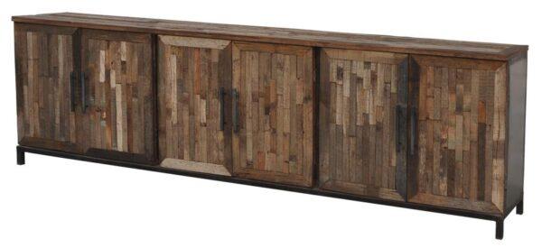 Wooden Catapult Media Cabinet