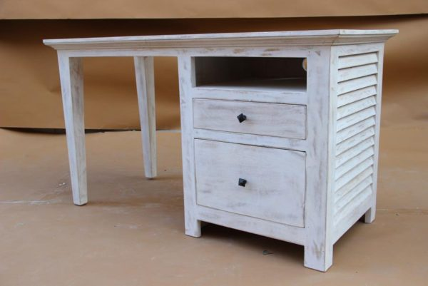 White Wash Writing Desk