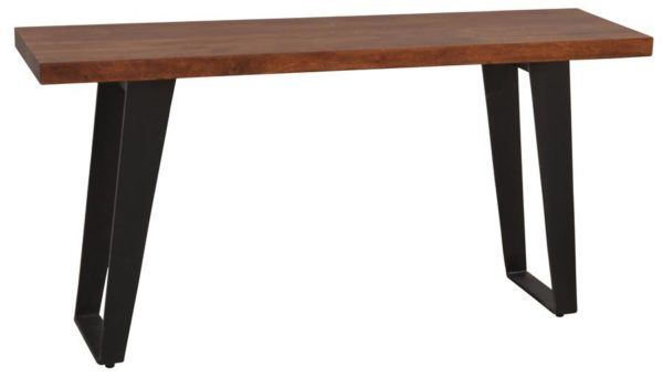 Modern Wood Metal Console Table