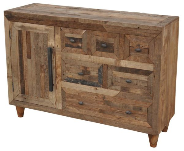 Mixed Wood Cabinet