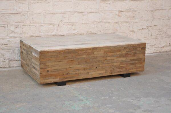 Wooden Ottoman