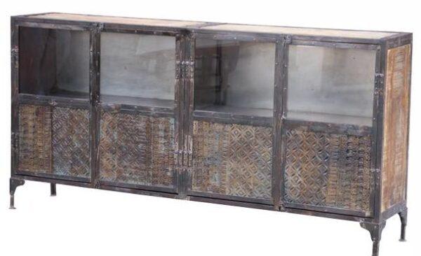 Monk Print Block Sideboard