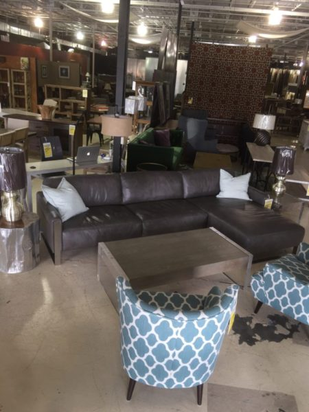 Charlie Leather Sectional