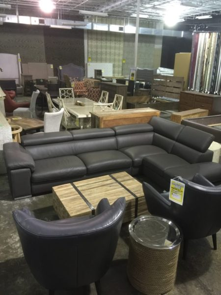 Keegan Leather Sectional