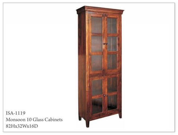 Monsoon Glass Cabinets