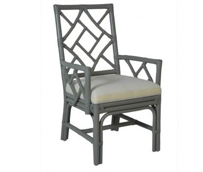 Arm Chair in Grey Taupe