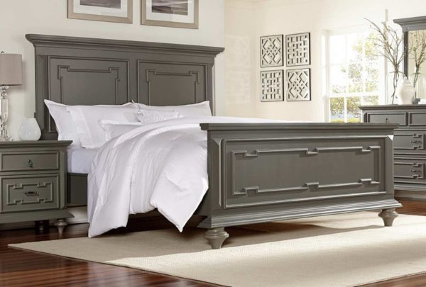 Marceline Grey Bed
