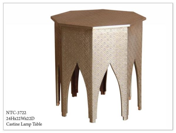 Castine Lamp Table