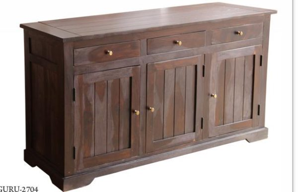 3 Drawer Sideboard Wood