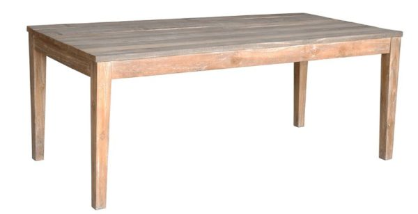 Teak Wood Rectangular Dining Table
