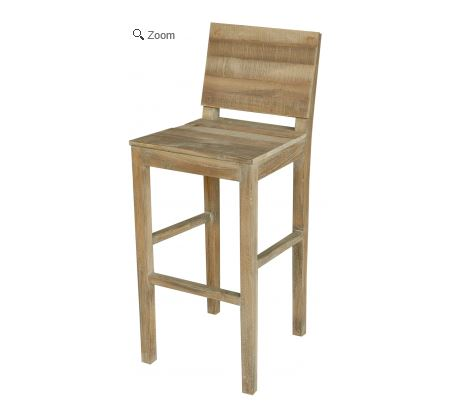 Teak Wood Bar Stool