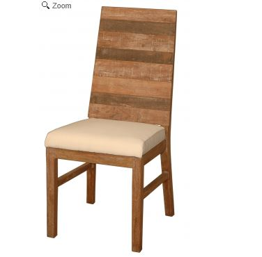 Teak Wood Dining chair with Cushion