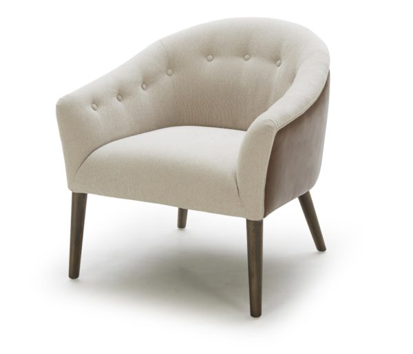 tufted modern chair