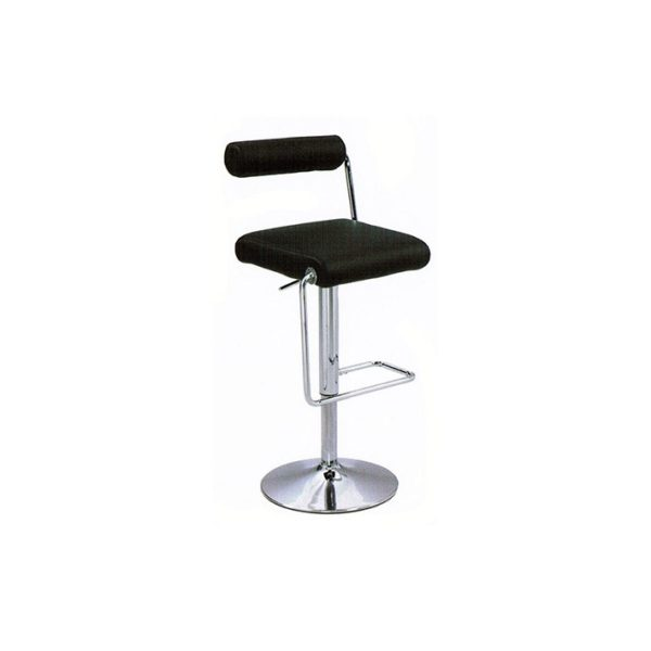 Roll Back Bar Stool