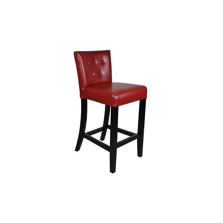 Tufted Leather Bar Stool Horizon Home Furniture