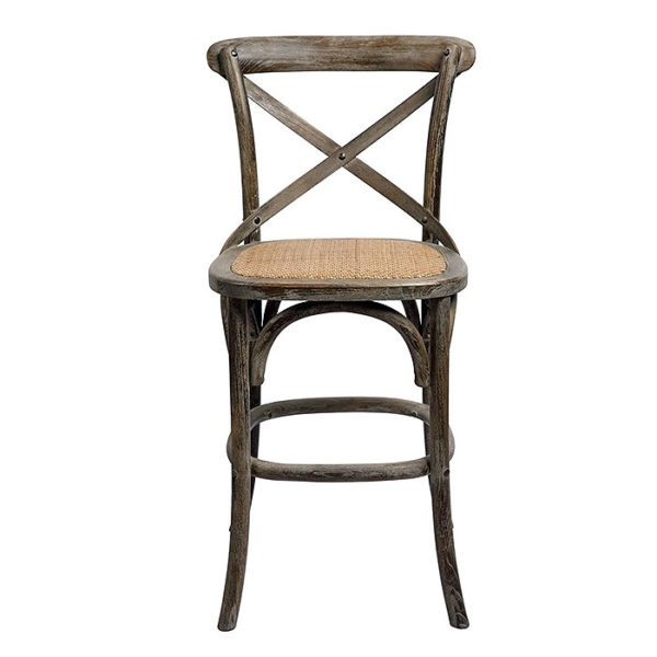 Bennett X-Back Bar Stool