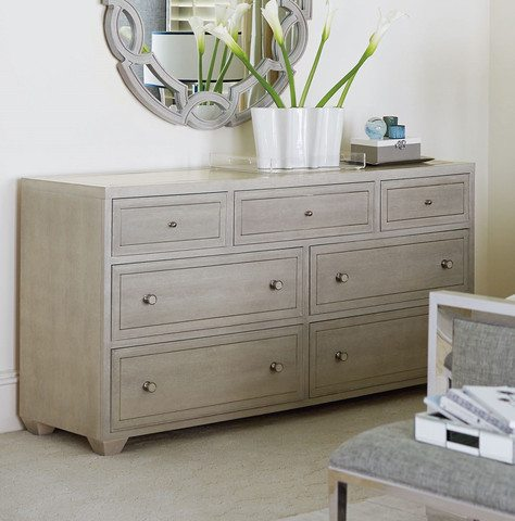 Bernhardt Light 7 Drawer Dresser