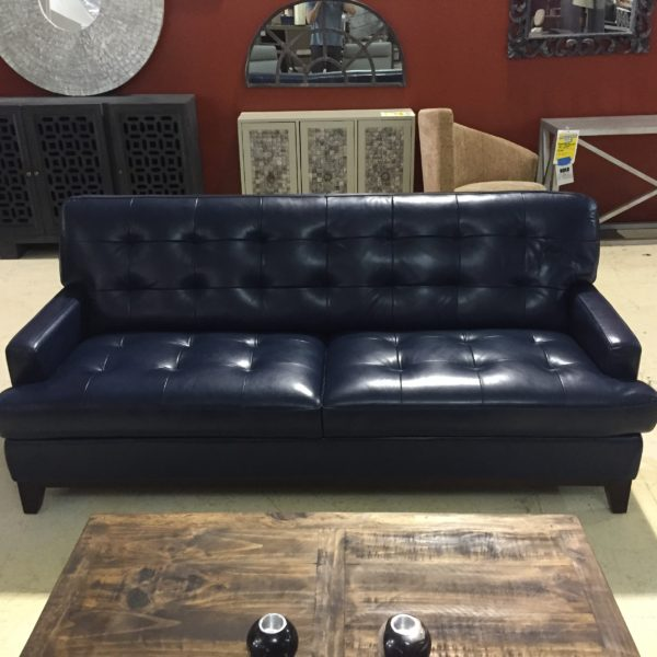 Raven Leather Sofa