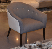 Tufted Como Chair