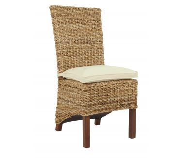 Side Chair with Linen Cushion