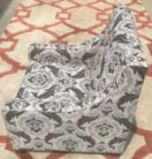 Flower Patterned Upholstery Chair