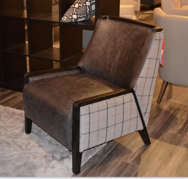 Tartan Harwood Chair