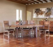 Solid Habillo Wood Dining Table