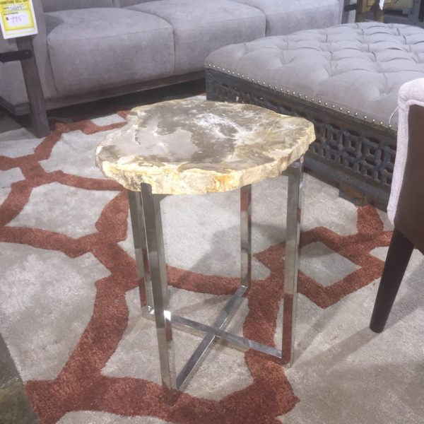 Oblong Petrified Wood Table