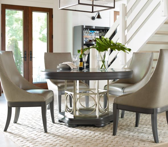 Moonstone Round Dining Table