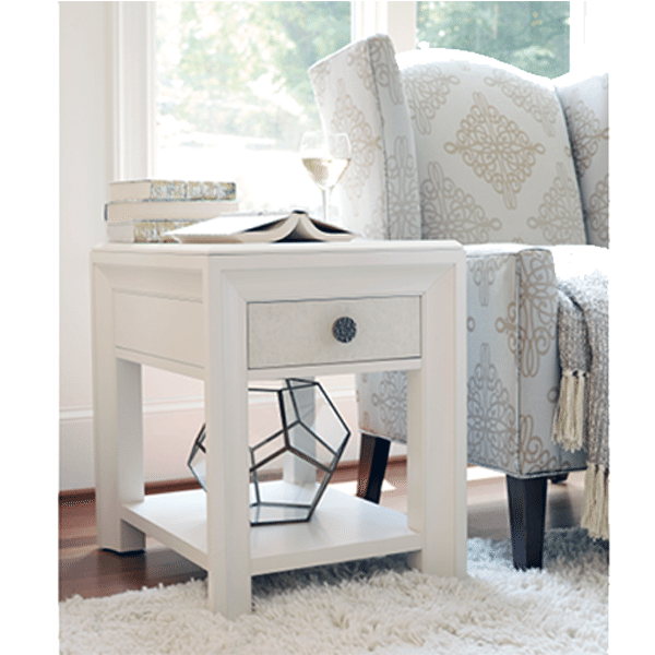 Pearl Chairside Table Horizon Home Furniture