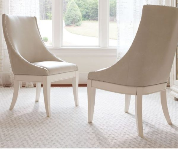 Upholstered Hostess Chair