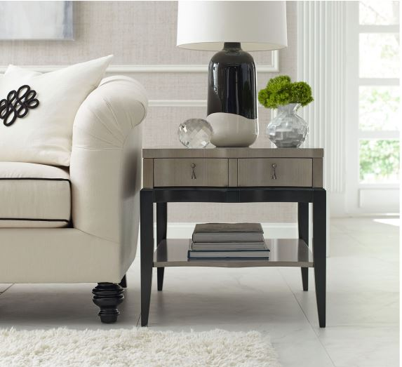 Grey Symphony End Table