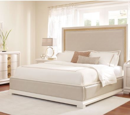 Upholstered Pearl Bed