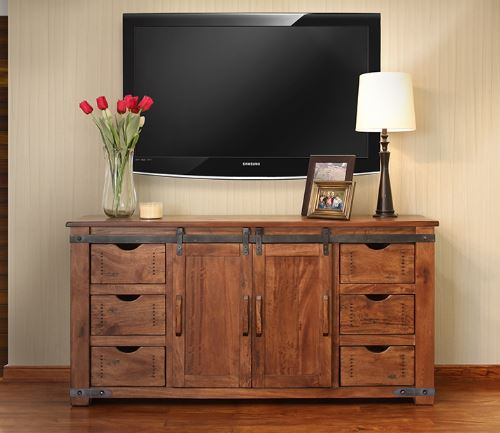 Westside Large Media Cabinet
