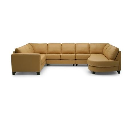 Juno Leather Sectional (1)