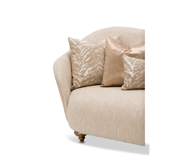Camelia Bright Gold Michael Amini Sofa Horizon Home Furniture
