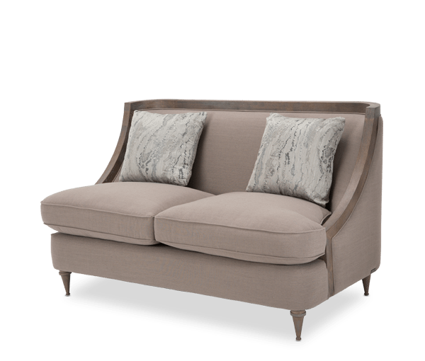 studio dallas loveseat horizon home furniture. Black Bedroom Furniture Sets. Home Design Ideas