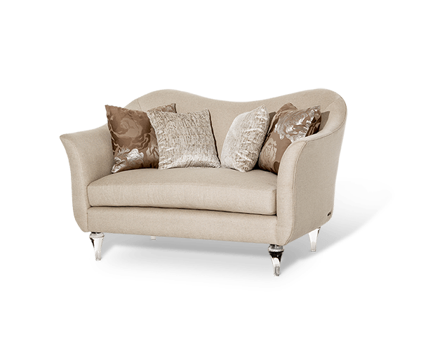 Rodeo Loveseat by Michael Amini