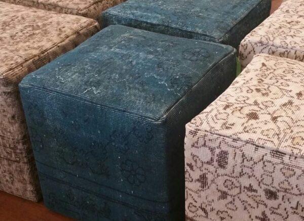 Turkish Carpet Ottoman