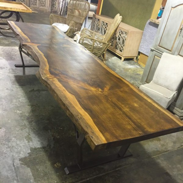 Hand Crafted Live Edge Conference Table