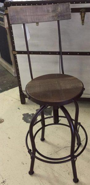 IFD Vintage Bar Stool