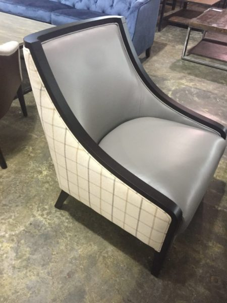 Scott Leather Accent Chair