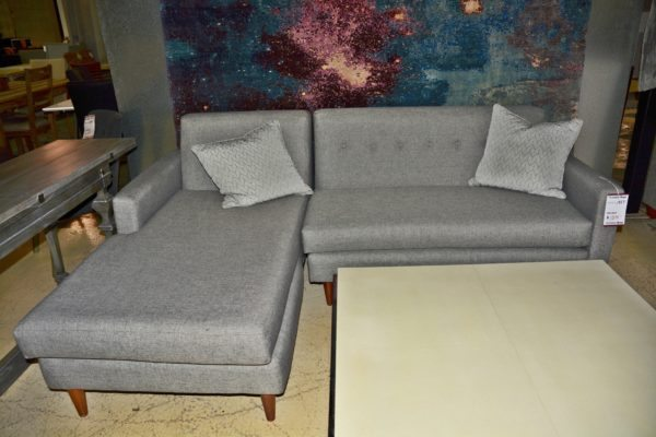 Grey Sofa w/ chase lounge