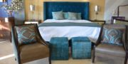 Custom made Blue Tiffany Bed